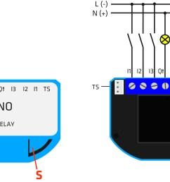 z wave flush 1 relay electrical diagram [ 1824 x 1377 Pixel ]
