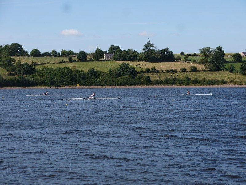 Edwards competing in the Novice Single 3