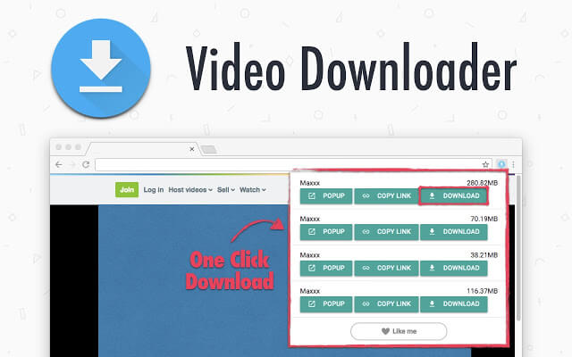 cara download video di facebook di pc
