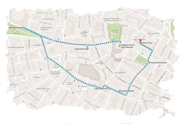 Que hacer en Albacete ruta casco antiguo