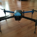 IRIS+ 3D Robotics Drone test flight.