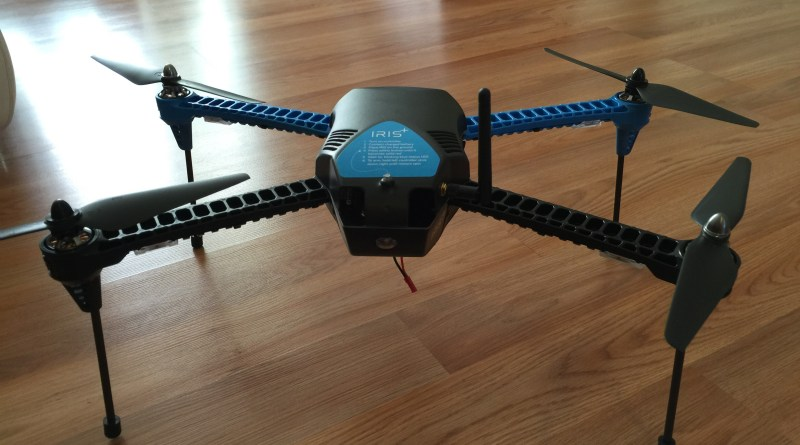 Drone is ready to fly