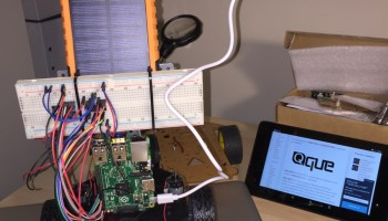 QUE com Self-Balancing Robot using Raspberry Pi 2