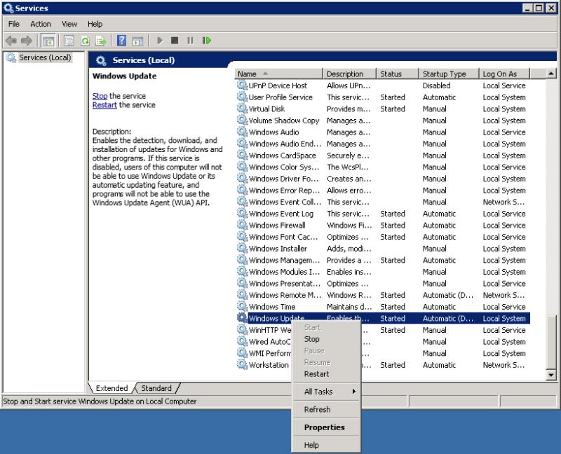 KING.NET.Error.Code.80244019.WindowsUpdate.ServiceRestart