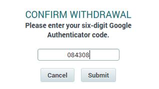 QUE.com.Poloniex.Bitcoin.Withdraw.twofactorauthentication