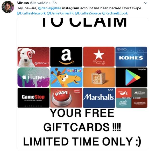 Yehey.com.Instagram.Hacked.MiwuMiru.fraudgiftcards