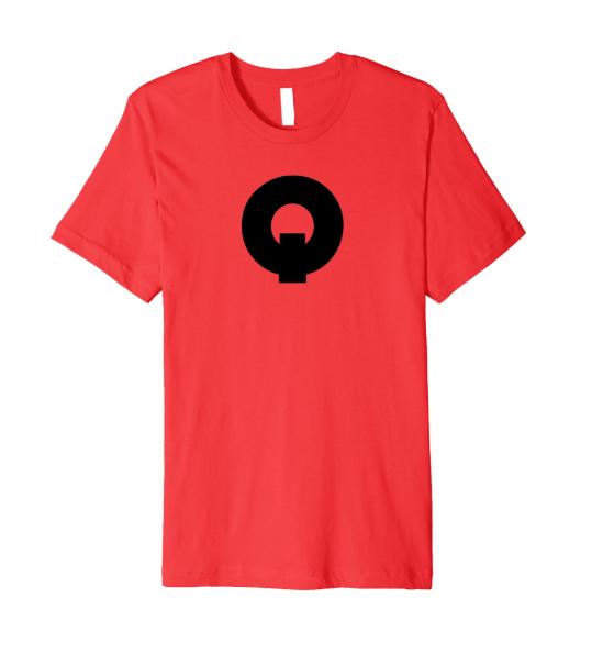 QUE.com,TShirt.Red