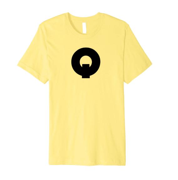 QUE.com,TShirt.Yellow