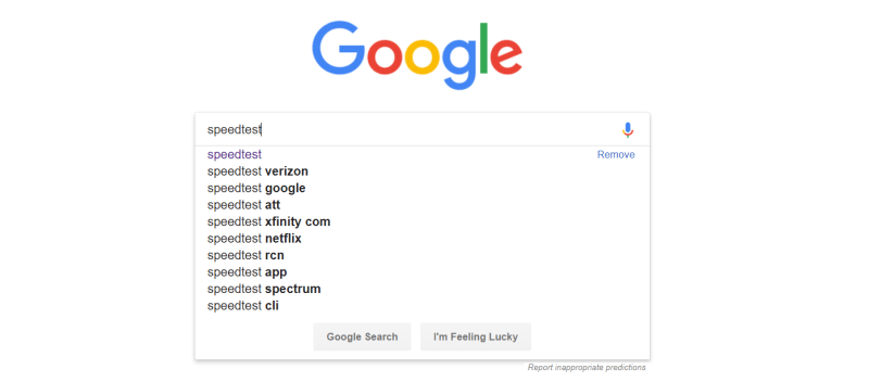 Que.com.Google.Internet.SpeedTest.Search.PNG