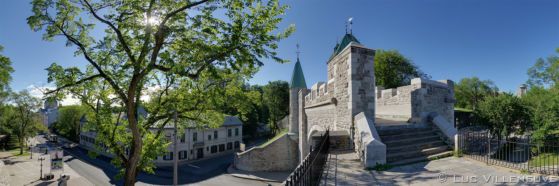 Fortifications of qu bec qu for Porte st louis quebec