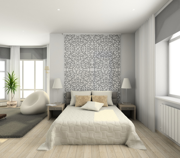 tete de lit moderne pas cher ral bleu canard avec. Black Bedroom Furniture Sets. Home Design Ideas