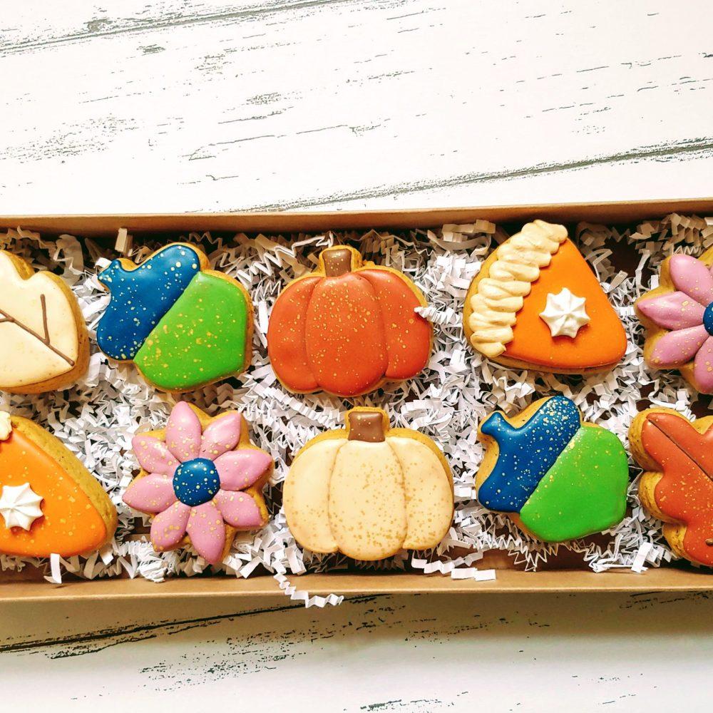 Fall Mini Cookie Set