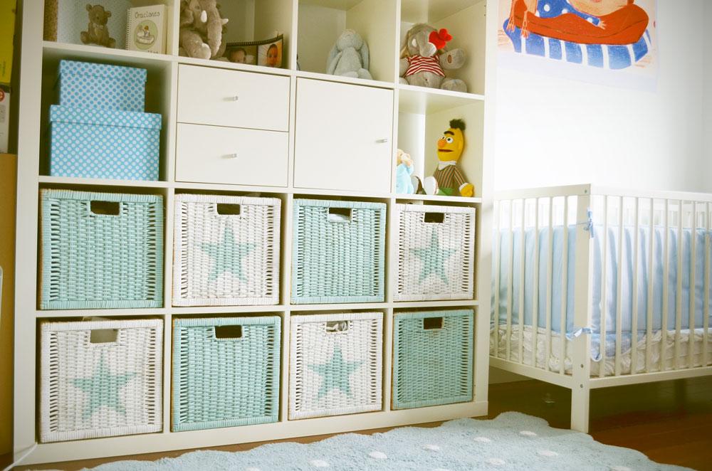 DIY Pon orden y estilo en la habitacin del beb