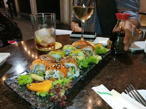 Sushi del restaurante Maketto Sushi Bar