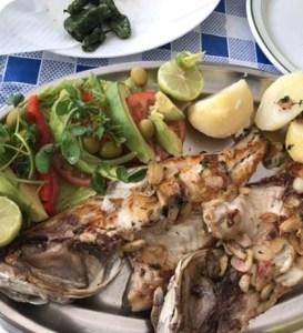 Presentación de pescado