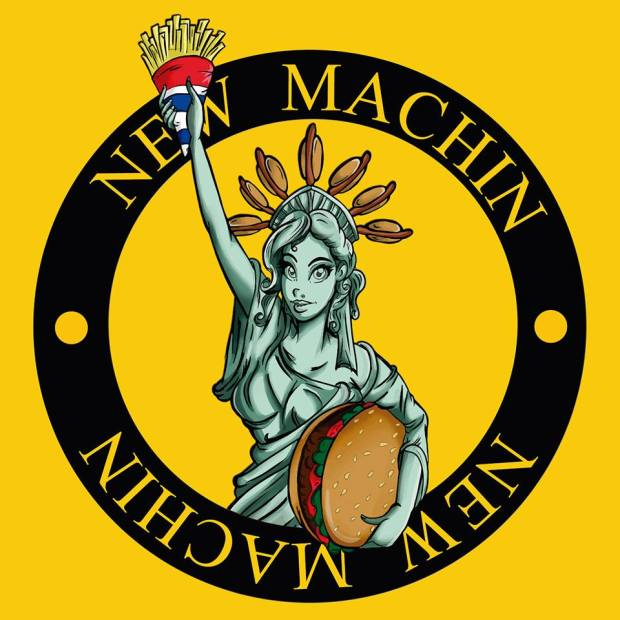 Logo new machin