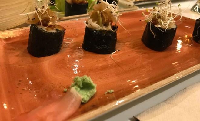 Sushi del restaurante udon