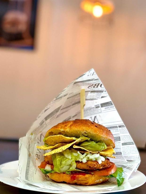 hamburguesa sin gluten picoteo san miguel