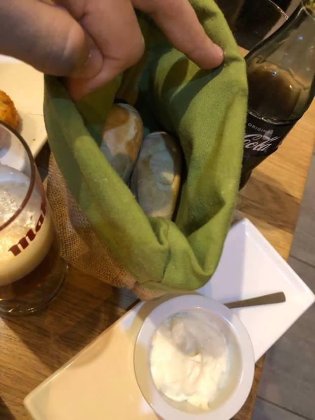 Pan y mayonesa con lima La Patineta