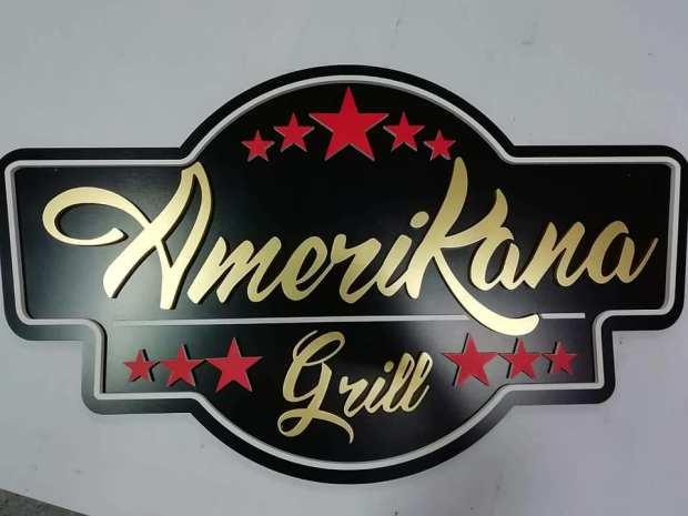 Logo amerikana grill