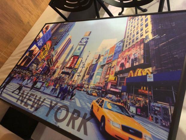 Mesa tematica Amerikana grill New York