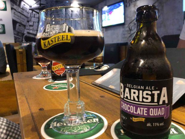 cerveza sabor a chocolate terraza geiser