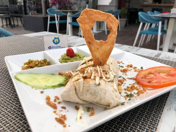 Burrito comida mexicana