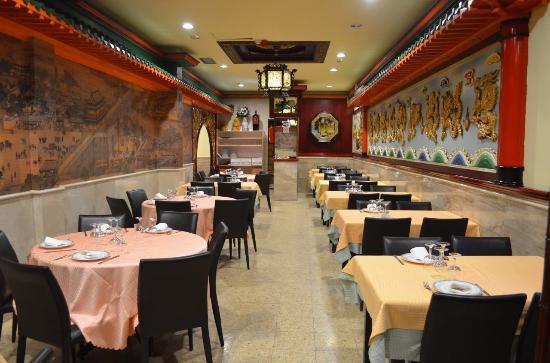 comedor restaurante chino Taiwán