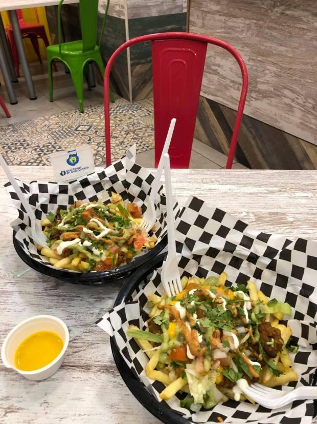 papas chili vegano nopal
