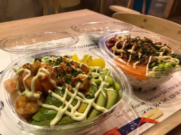 sushi en bol canarias