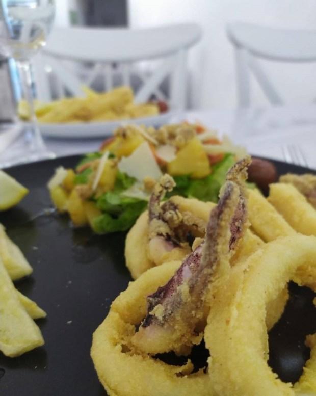 plato de calamares gastro melian