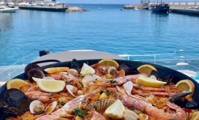 cocina mediterránea Grill Costa Mar paella puerto rico