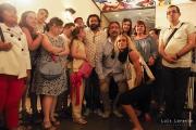 <h5>Premios Pirineos Sur 2016</h5><p>Asociación Down Huesca con los premiados</p>