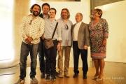 <h5>Premios Pirineos Sur 2016</h5><p>Premiados con presidente y vicepresidenta de la DPH</p>