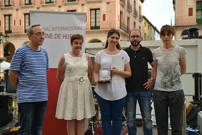 Entrega del premio de relatos cortos de cine de Huesca