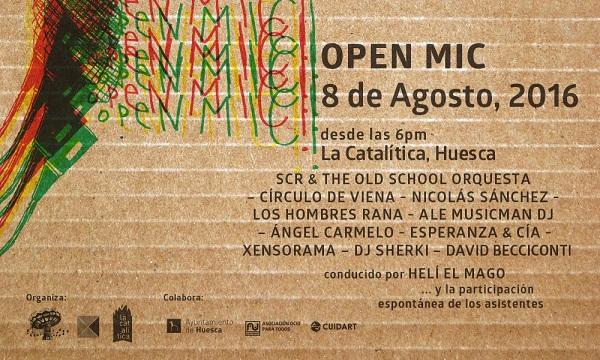 open mic huesca