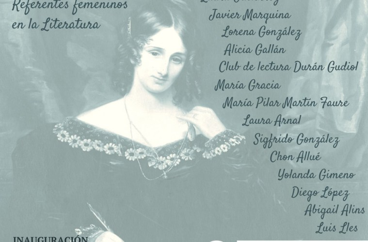 exposición referentes femeninos literatura huesca