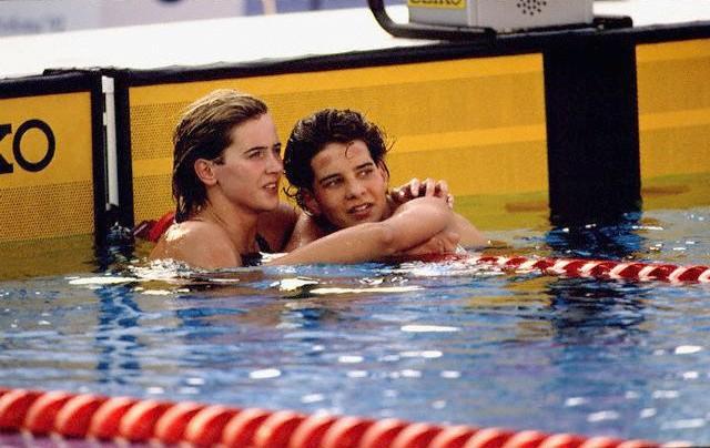 Krisztina Egerszegi y Tünde Szabo - Juegos Olímpicos de Barcelona 1992