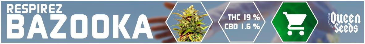 graines asthme cannabis bazooka