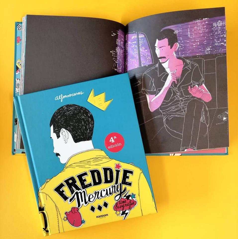 Freddie Mercury. Biografia - komiksowa biografia