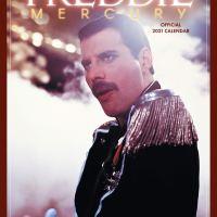 Drugi oficjalny kalendarz Queen oraz osobny Freddiego Mercury'ego na 2021