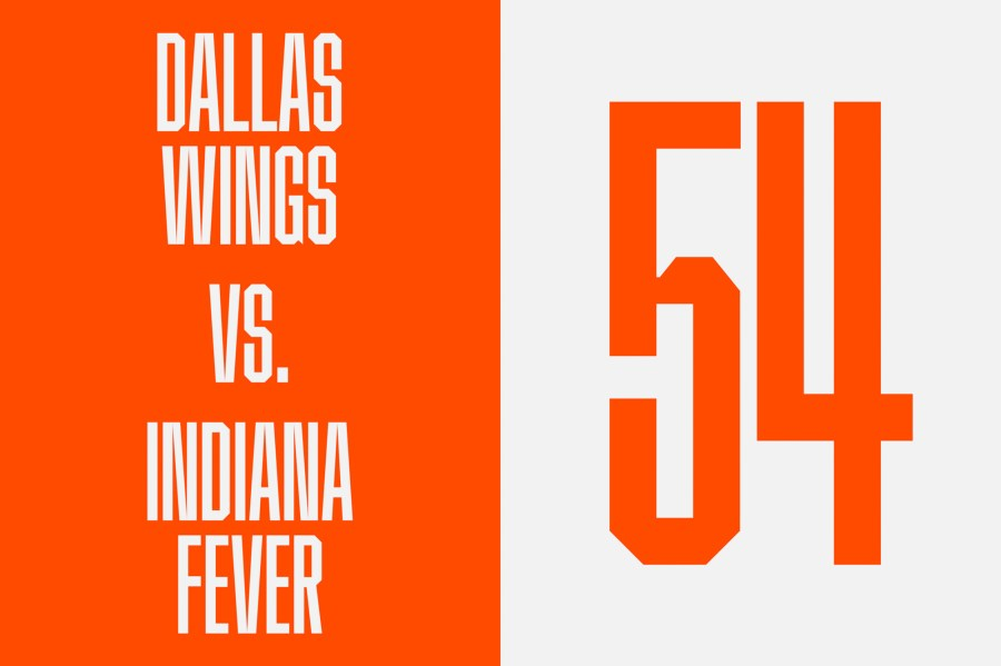 New typefaces from the WNBA's rebrand