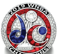 The Mystics WNBA Championship ring