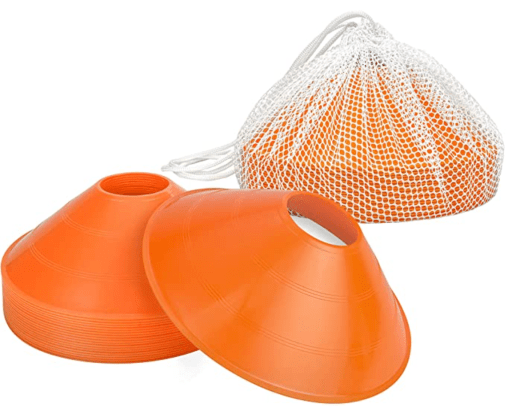 Basketball cones are a cheap basketball gift
