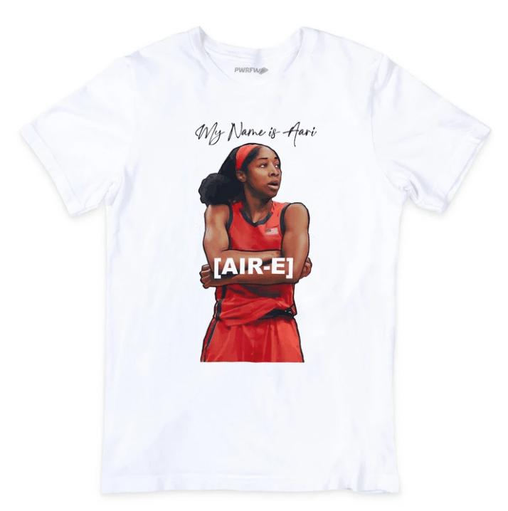 Aari McDonald's WNBA tee