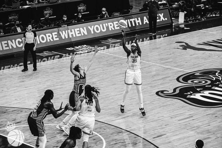 Jonquel Jones WNBA All-Star Game