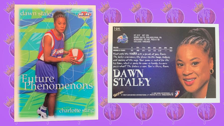 Dawn Staley WNBA trading card