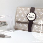 Gift card holder made with Stampin