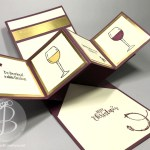 Twist and Pop fancy fold card using Stampin