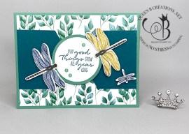 Forever Greenery Dragonfly Garden